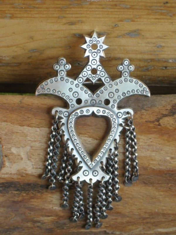 Folk pin from the region of Podhale in Poland