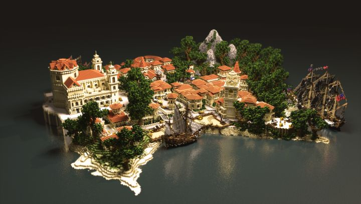 Havana - Assassin's Creed Black Flag | PvP Map Minecraft Project