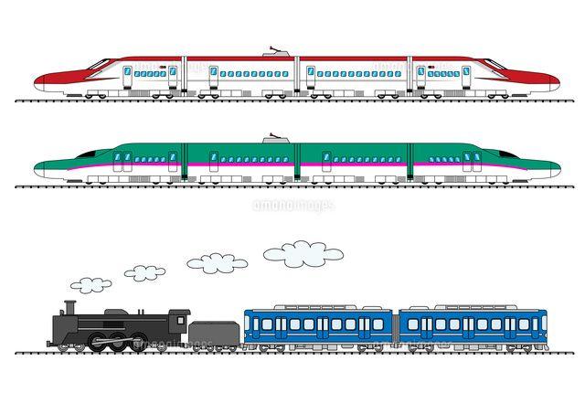 新幹線 こまち はやぶさ と蒸気機関車 の写真素材 イラスト素材 アマナイメージズでは3000万点以上の高品質な写真素材 イラスト素材 動画素材が購入可能です ロイヤリティフリー作品だけでなくライツマネージド作品も豊富に取り揃えています