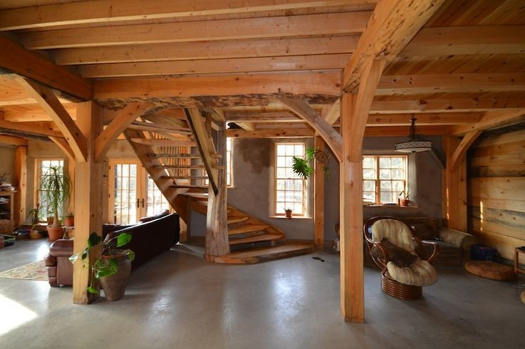 Pole Barn Houses Are Easy To Construct Barn House Interior Pole