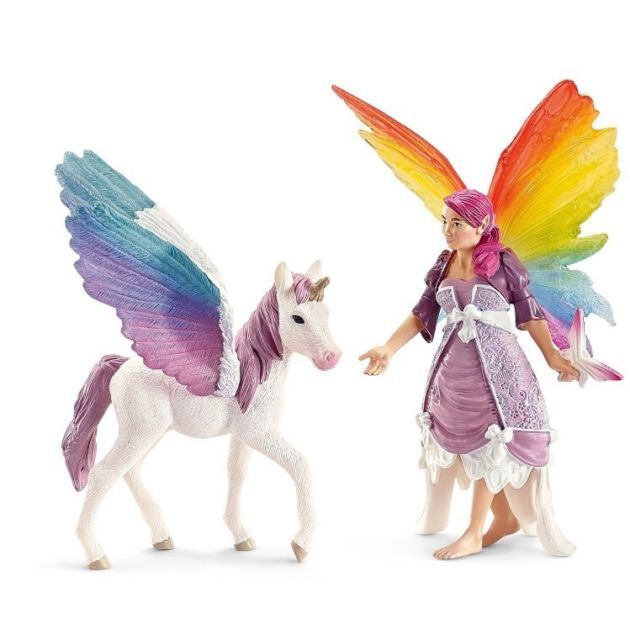 Schleich Bayala Lis and Pegasus 70484 Fairy Figurine Toy NEW | eBay