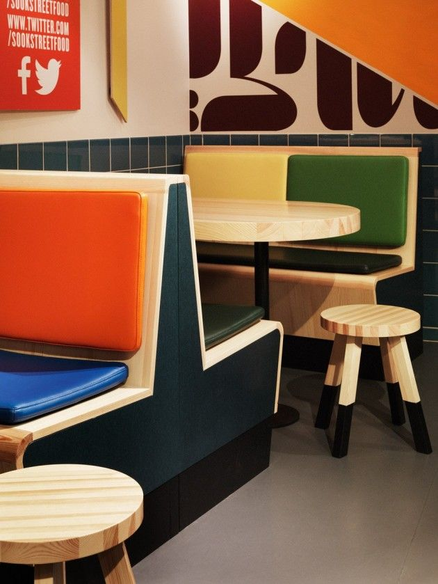 koncept stockholm have recently completed sook a fast food restaurant located in tby an