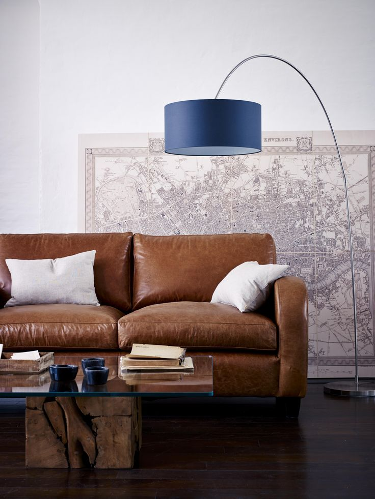 Raft Art Deco style Oscar Sofa, handmade in england.