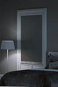 25 best ideas about blackout blinds on pinterest for Motorized blackout shades with side channels