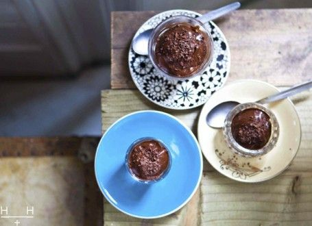 Frozen bananas and creamy avocados lend this incredible dessert it's silky smooth texture. We use cacao, the raw and sugar-free version of cocoa which is packed full of antioxidants and has a deep, rich flavour. A perfect dessert to round off your Easter feast!