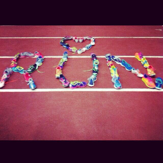 Track & field #run Beautiful shoes!!!!