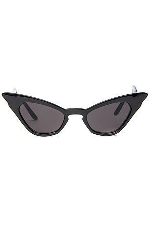Replay Vintage Sunglasses Women's The Cry Baby Retro Sunglasses in Black