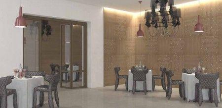 Maderal natural y cristales de Swarovski. Una manera original y diferente de decorar tus espacios. Colección: Luxe