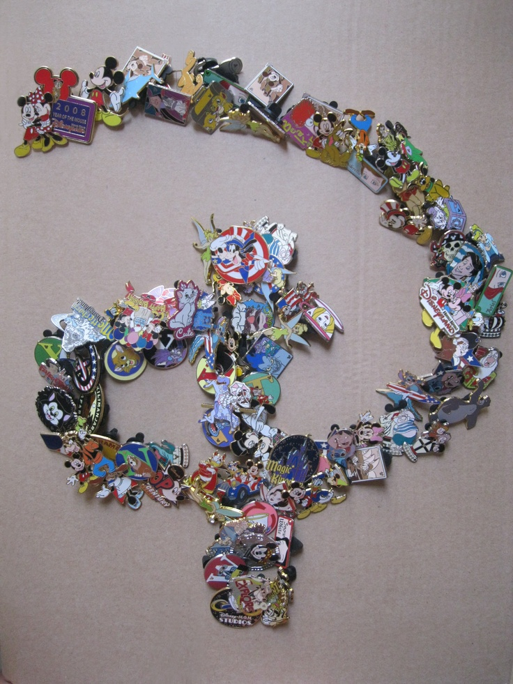 Disney Pin Collecting..real big thing in Disneyland and World, I only have a few, nothing like this collector...