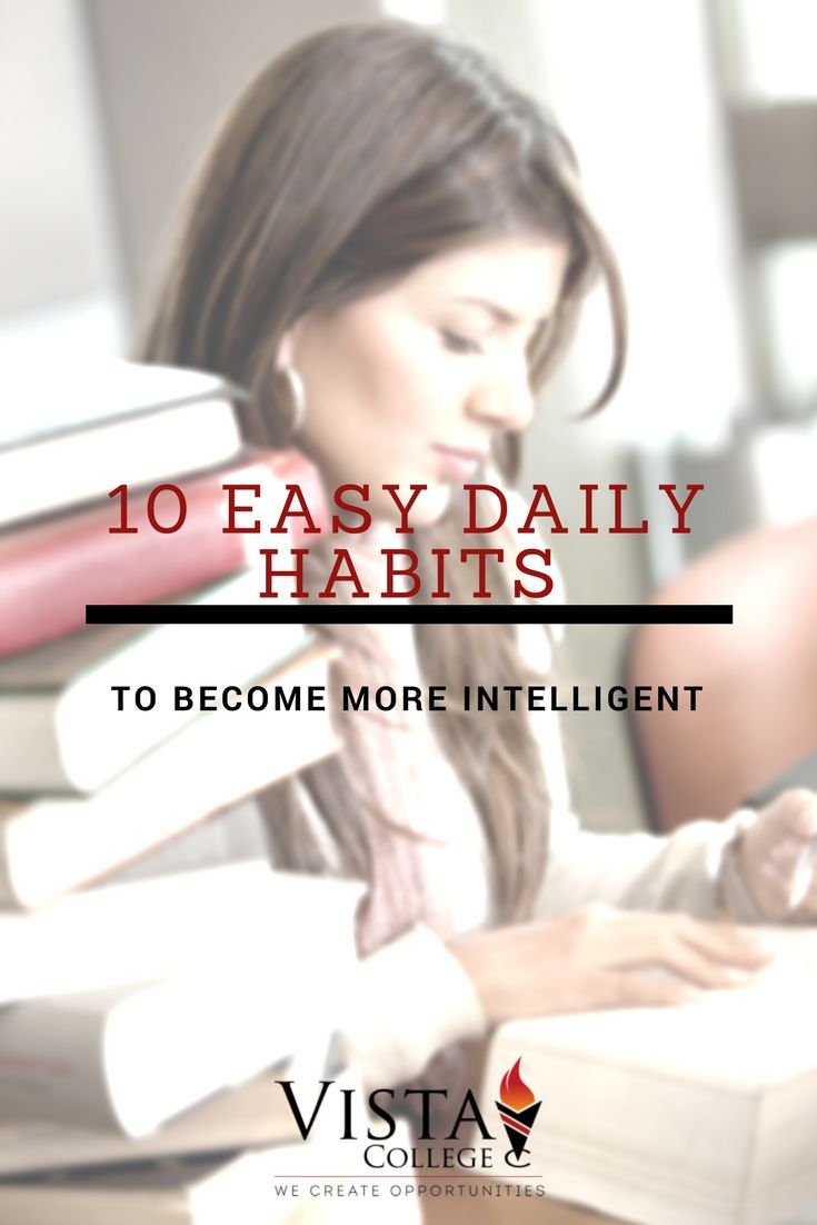 Top 10 Easy Daily Habits to Become More Intelligent