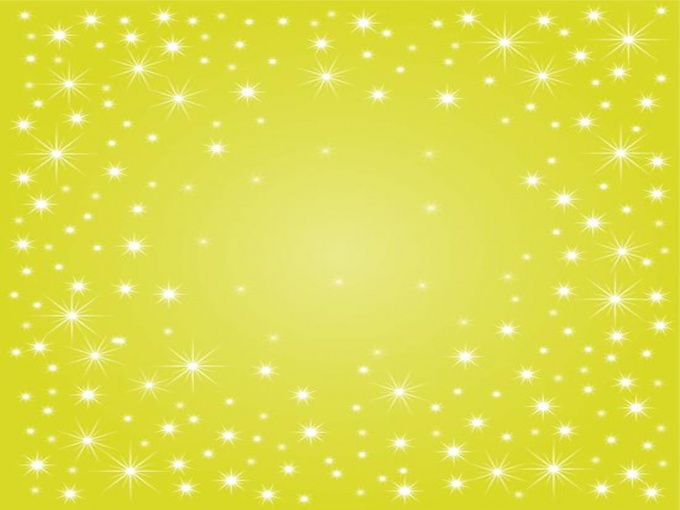 yellow sparkle powerpoint template file