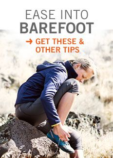 A hub with lots of good information about making the switch for barefoot running