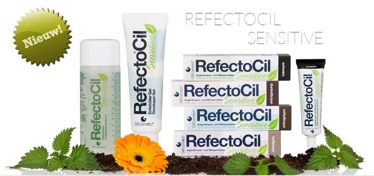 Refectocil Sensitive - wimper/wenkbrauwverf voor mensen met gevoelige huid en ogen! Binnenkort verkrijgbaar bij Wimperwensen.com