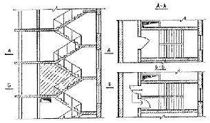 варианты перекрытий узла лестничной клетки - Поиск в Google