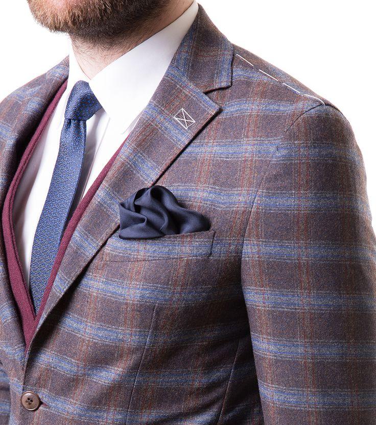 Karaca Erkek Regular Fit 6 Drop Ceket - Kahve #mensfashion #jacket #ceket #karaca #ciftgeyikkaraca www.karaca.com.tr