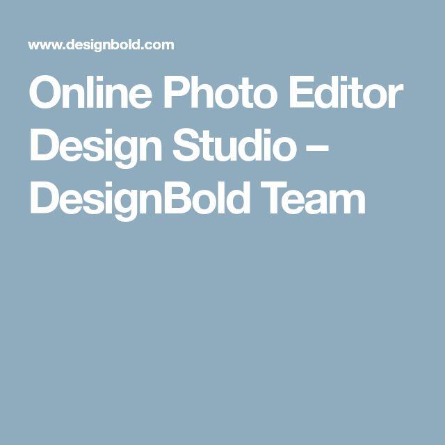 Online Photo Editor Design Studio – DesignBold Team