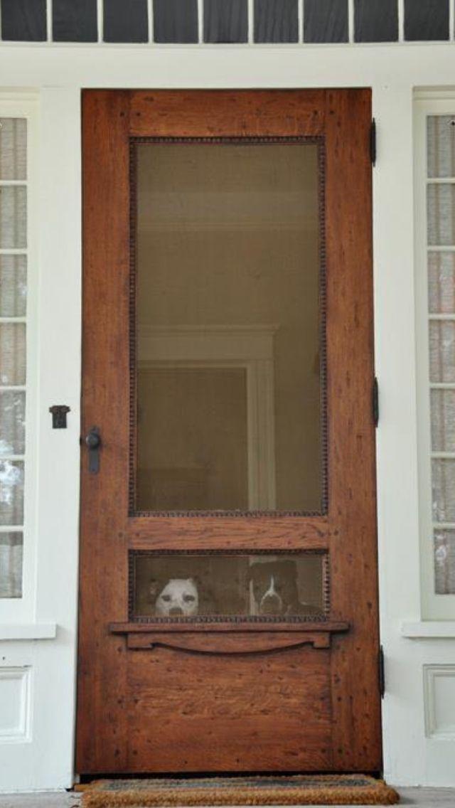 I LOVE this Screen door!