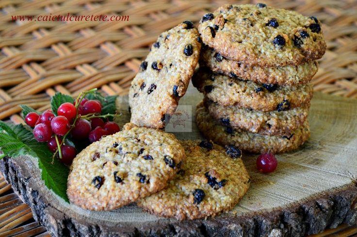 CAIETUL CU RETETE: Biscuiti digestivi cu agrise