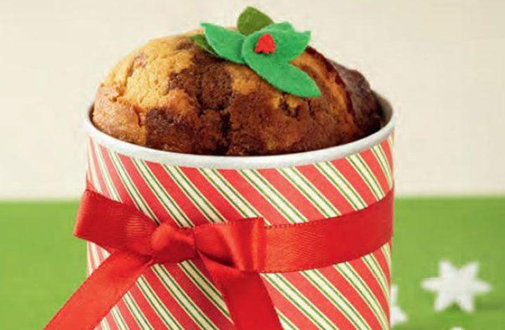 Disfruta con tus hijos preparando este dulce Ponqué Vetiado Vainilla y Chocolate. #LaLechera