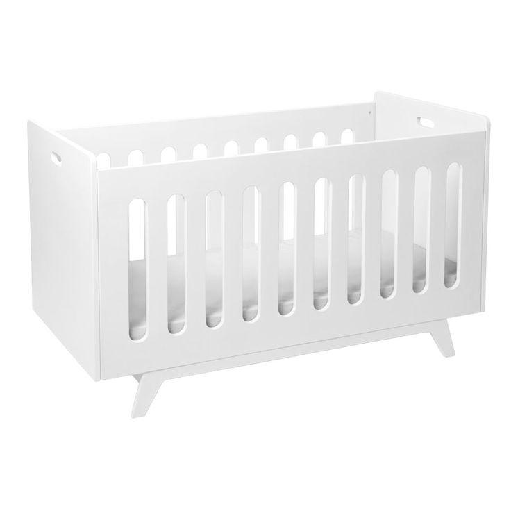 Mimm Babybett weiß - umbaubar - farblich gestalten