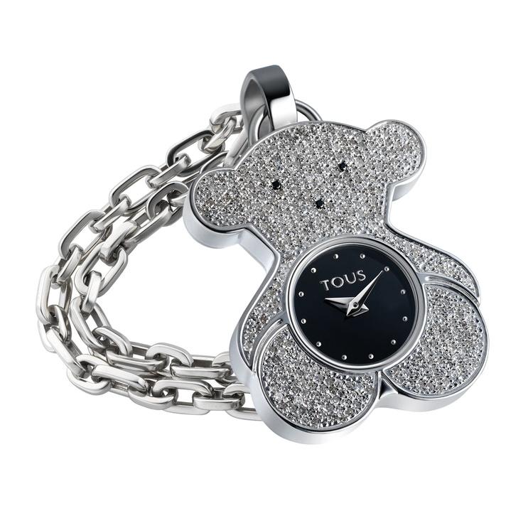 TOUS Watch With Pavé Diamonds !!!