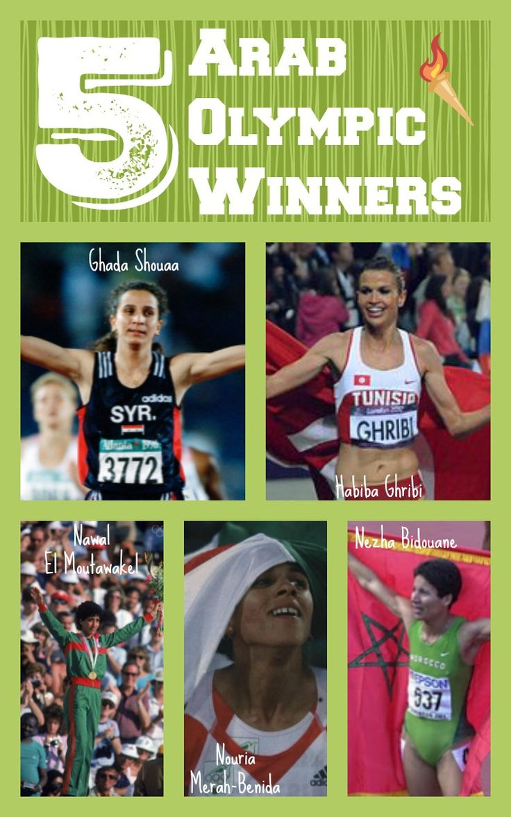 5 Arab Olympic Winners | Multicultural Kid Blogs