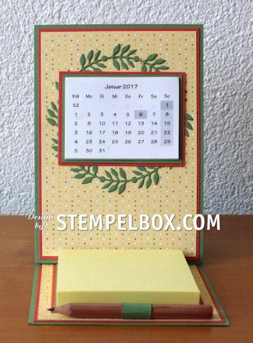 Und noch ein Tischkalender