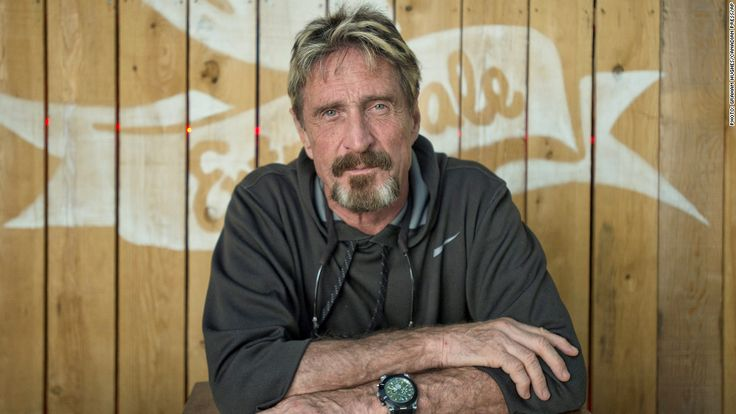 """John McAfee: Bitcoin """"Will Become the Standard for the World""""."""
