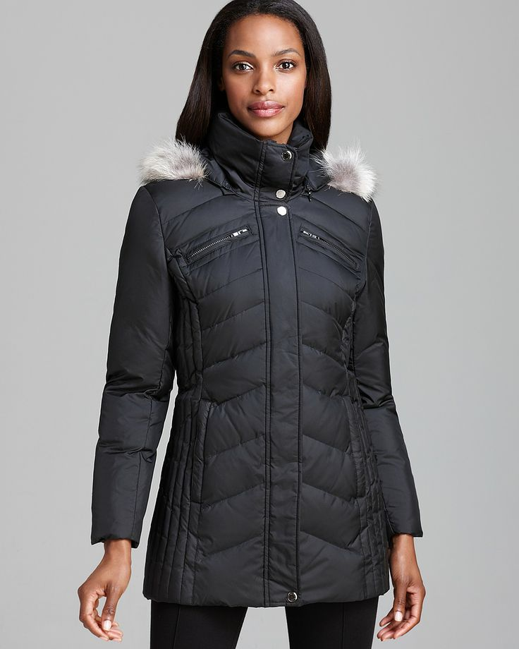 my current dream coat. Marc New York Down Coat - Mixed Chevron Quilt | Bloomingdale's