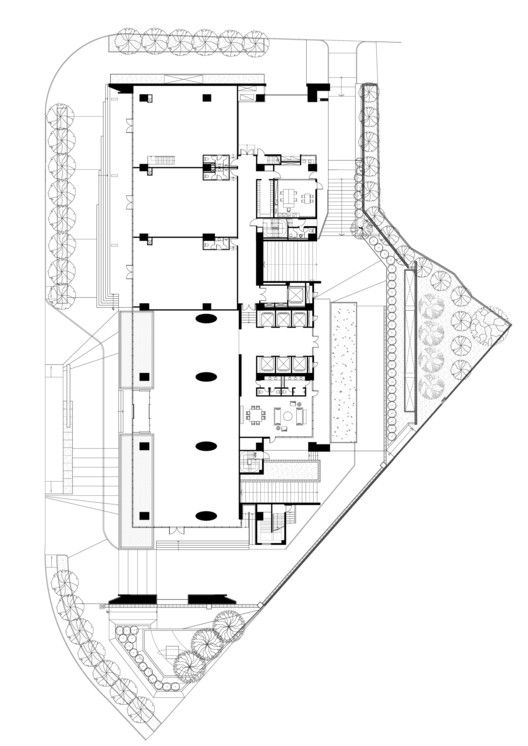 HVW Headquarter,First Floor Plan