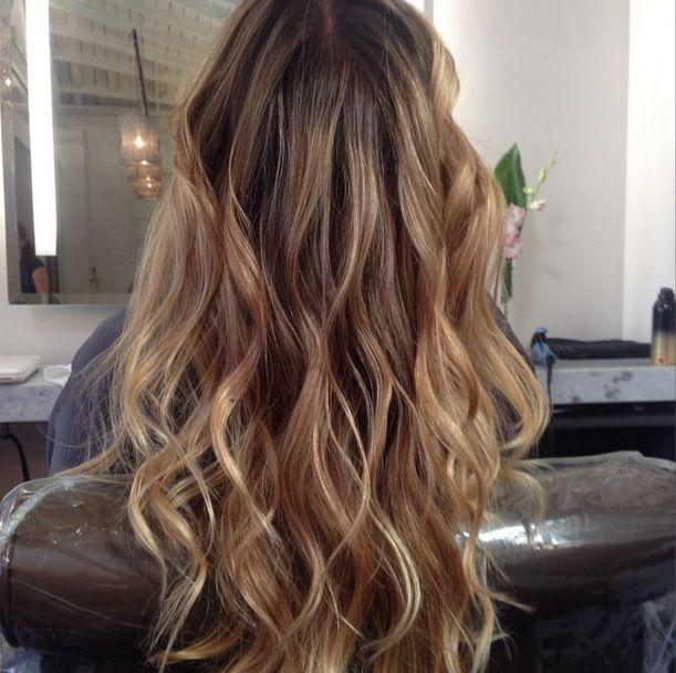 Dark Golden Blonde Highlights Hair Color Pinterest