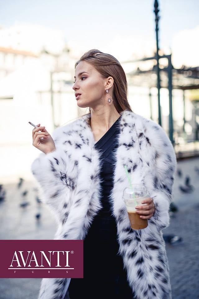 AVANTI FURS - MODEL: ARLETE CAT LYNX JACKET   #avantifurs #fur #fashion #catlynx #luxury #musthave #мех #шуба #стиль #норка #зима #красота #мода #topfurexperts