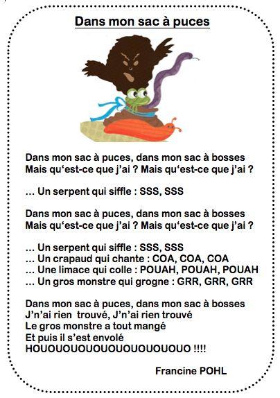 Voici une chanson à accumulation d'objets qui plaît beaucoup aux enfants. Elle a été écrite par Francine POHL. Il n'y a que 2 accords DO et SOL7. Avis aux graveurs de guitare! Mon sac à puces par dm_50a027e0bdb7a