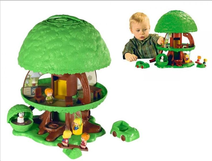 The Tree Tots are another very collectible line of toys from the 1970's, made by Kenner.