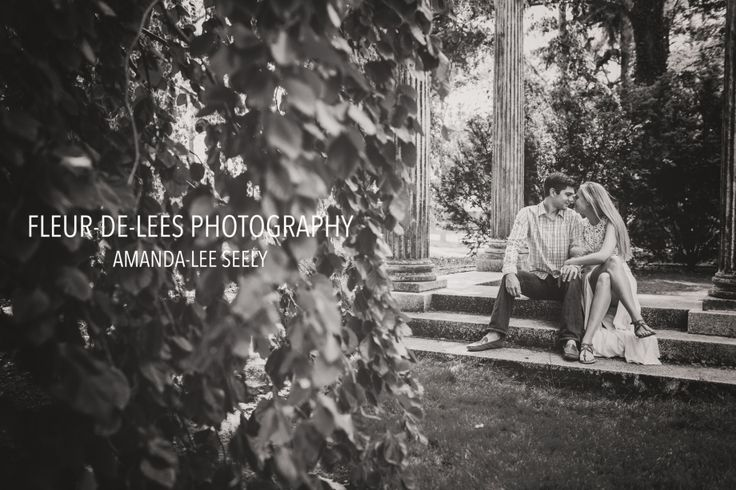 Long Island Wedding Photographer. Old Westbury, New York. Jessica and Jesse. Engaged. Old Westbury Gardens