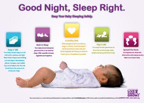 38 best safe sleep for your baby images on pinterest infant death caregiver and infants. Black Bedroom Furniture Sets. Home Design Ideas