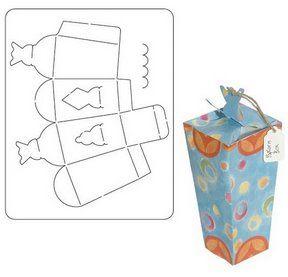 Plantillas de cajas de regalo