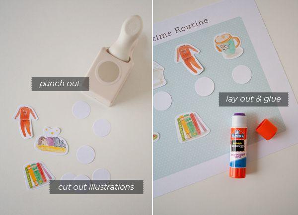 Printable Toddler Routine Chart | Hellobee