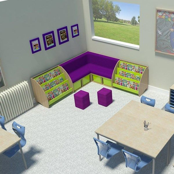 Reading corner bundle creates an exciting story corner for primary school classrooms