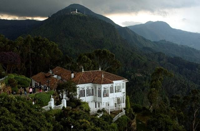 Bogota, Colombia. View from Monserrate