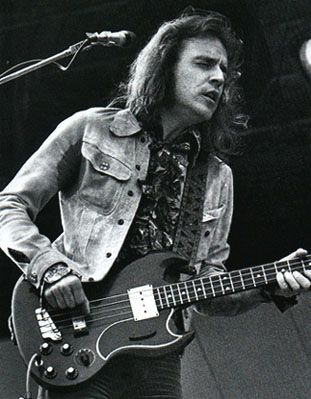 Jack Bruce - Perhaps the most important innovative bass player in rock music. In many occasions the back bone of Cream.