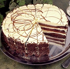Chocolate Stout Cake With Bailey's Irish Cream Frosting