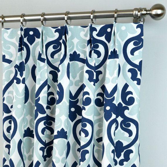 51 Best Zeldabelle Designs Navy Drapery Curtain Panels