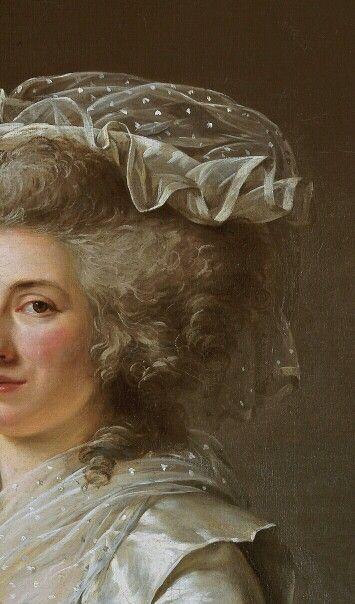 Portrait de Manon Roland-Philipon, 1787 Adelaide Labille-Guiard Détail