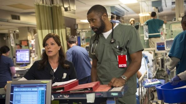 Marcia Gay Harden as Dr. Leanne Rorish and Cress Williams as Dr. Cole Guthrie