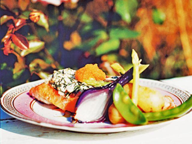 Skagenlax med löjrom (kock Caroline Hofberg) Salmon