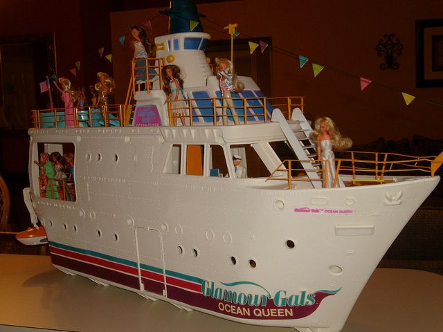 barbie party cruise ship instructions