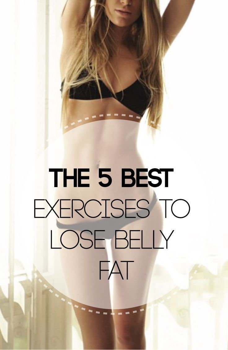 how to lose fat below belly button