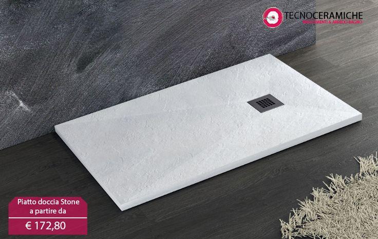 Piatto doccia Stone in marmo resina ideale sia per ambienti interni che per esterni. In offerta ora sul nostro sito.