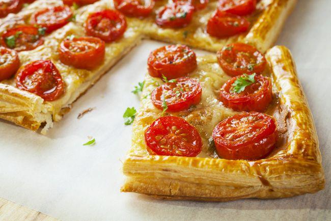 Easy and impressive tomato tart